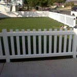 Picket fence are always nice!